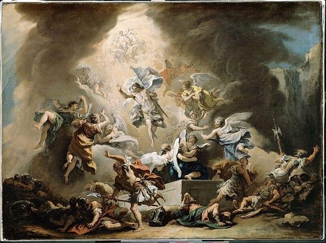 The Resurrection by Sebastiano Ricca, circa 1715