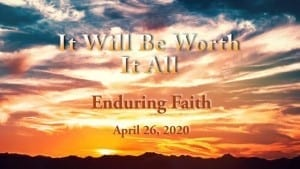 April 26, 2020 sermon video